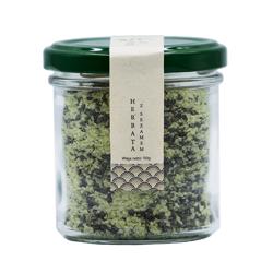 Zielona sól z czarnym sezamem